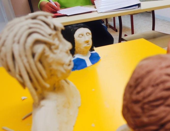 Classe relais -arts plastiques - Photo IC